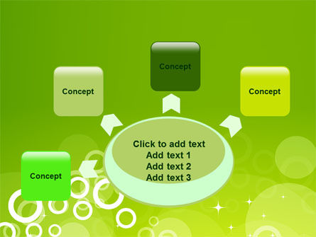 Green Bubbles Theme PowerPoint Template Slide 7