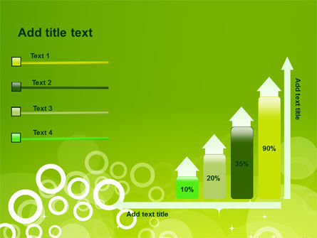 Green Bubbles Theme PowerPoint Template Slide 8