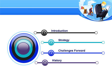 Procrastination PowerPoint Template, Slide 3, 07719, Technology and Science — PoweredTemplate.com