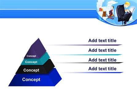 Procrastination PowerPoint Template, Slide 4, 07719, Technology and Science — PoweredTemplate.com