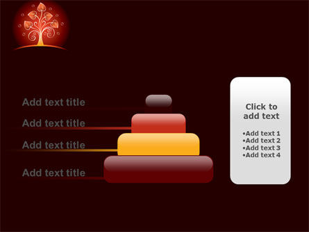 Glowing Tree PowerPoint Template Slide 8