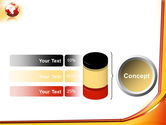 Orange Globe Theme PowerPoint Template#11