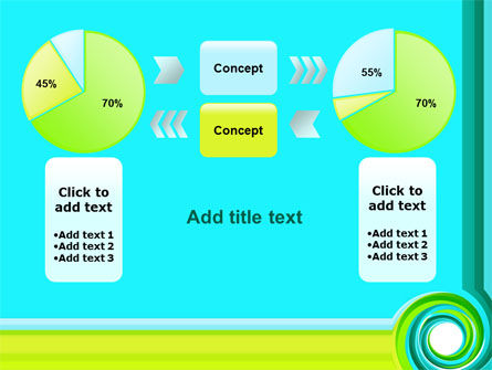 Aqua Swirl PowerPoint Template Slide 11