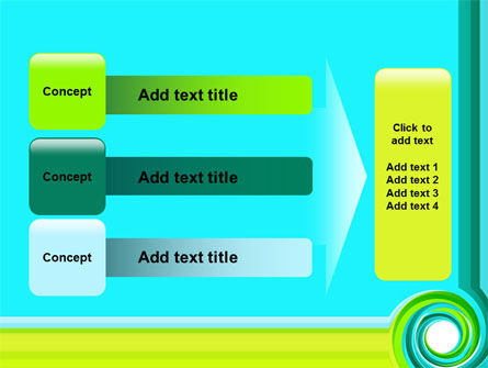 Aqua Swirl PowerPoint Template Slide 12