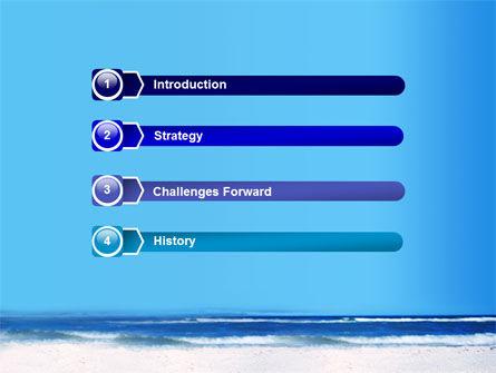 Globe On A Shore PowerPoint Template, Slide 3, 07727, Nature & Environment — PoweredTemplate.com