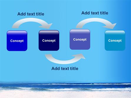 Globe On A Shore PowerPoint Template, Slide 4, 07727, Nature & Environment — PoweredTemplate.com
