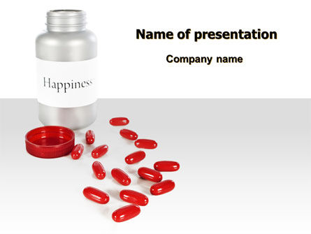 Consulting: Happiness Pills PowerPoint Template #07728