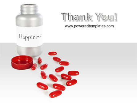 Happiness Pills PowerPoint Template Slide 20