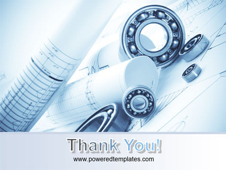 Mechanical Sketch PowerPoint Template Slide 20