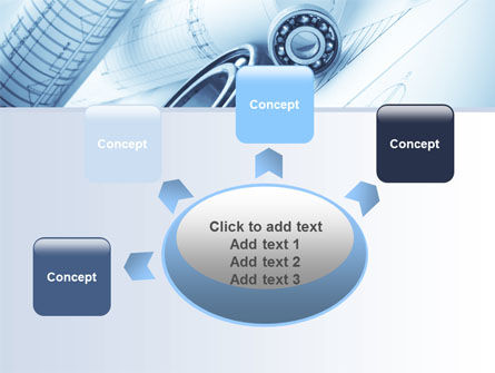 Mechanical Sketch PowerPoint Template Slide 7