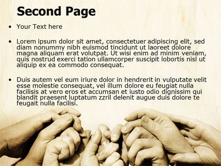 Joined Efforts PowerPoint Template, Slide 2, 07731, Religious/Spiritual — PoweredTemplate.com