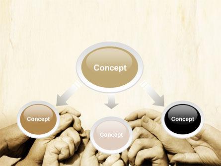 Joined Efforts PowerPoint Template, Slide 4, 07731, Religious/Spiritual — PoweredTemplate.com