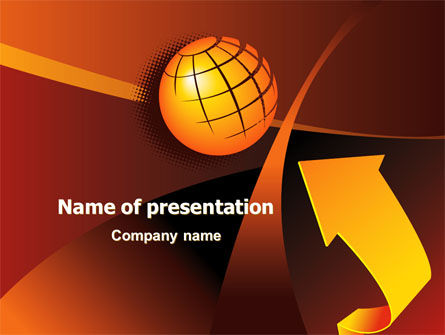 Global: World Development PowerPoint Template #07732