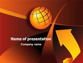 Global: World Development PowerPoint Template #07732