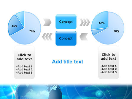 World Sky PowerPoint Template Slide 11