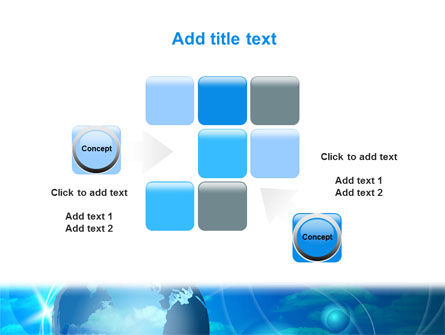 World Sky PowerPoint Template Slide 16