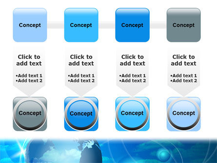 World Sky PowerPoint Template Slide 18