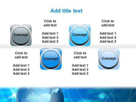 World Sky PowerPoint Template Slide 19