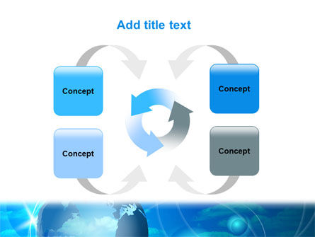 World Sky PowerPoint Template Slide 6