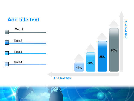 World Sky PowerPoint Template Slide 8