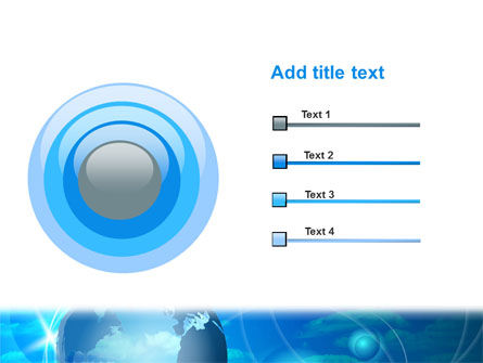 World Sky PowerPoint Template Slide 9
