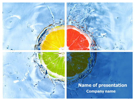 Orange Fresh PowerPoint Template, 07737, Consulting — PoweredTemplate.com