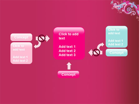 Pink Ornament PowerPoint Template Slide 13