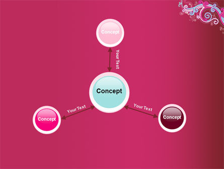 Pink Ornament PowerPoint Template Slide 14