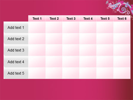 Pink Ornament PowerPoint Template Slide 15