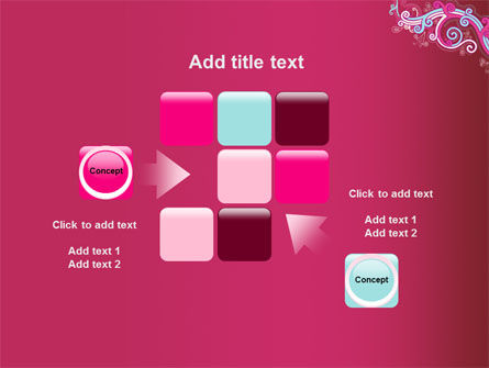 Pink Ornament PowerPoint Template Slide 16