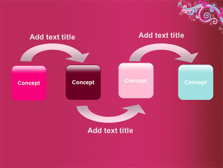 Pink Ornament PowerPoint Template Slide 4