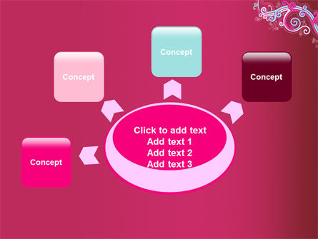 Pink Ornament PowerPoint Template Slide 7