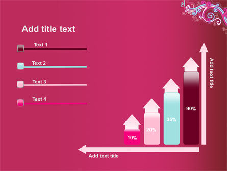 Pink Ornament PowerPoint Template Slide 8