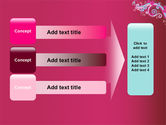 Pink Ornament PowerPoint Template#12