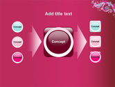 Pink Ornament PowerPoint Template#17