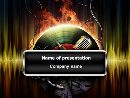 Music Energy PowerPoint Template