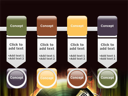 Music Energy PowerPoint Template Slide 18