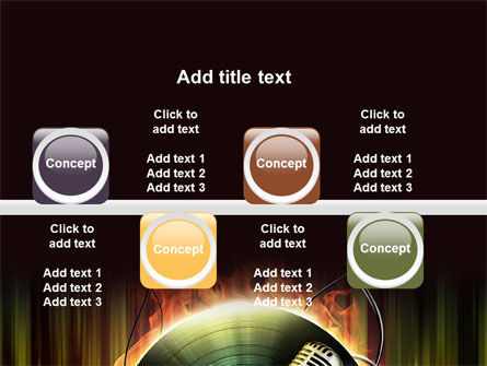 Music Energy PowerPoint Template Slide 19
