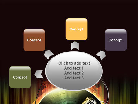 Music Energy PowerPoint Template Slide 7