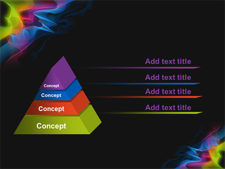 Abstract Rainbow Stripes PowerPoint Template Slide 12