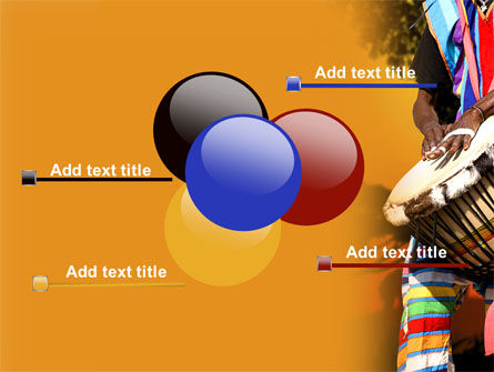 African Drum PowerPoint Template Slide 10