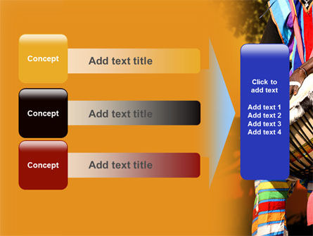 African Drum PowerPoint Template Slide 12