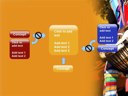 African Drum PowerPoint Template Slide 13
