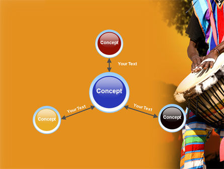 African Drum PowerPoint Template Slide 14