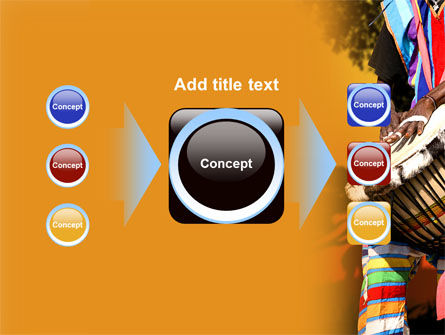 African Drum PowerPoint Template Slide 17