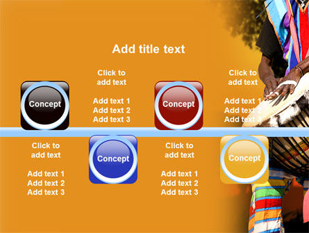 African Drum PowerPoint Template Slide 19