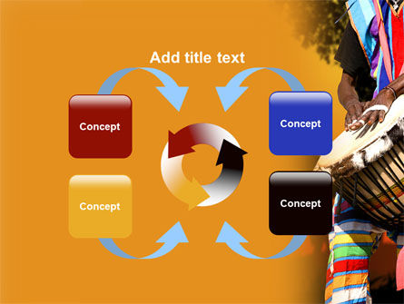 African Drum PowerPoint Template Slide 6