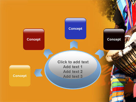 African Drum PowerPoint Template Slide 7