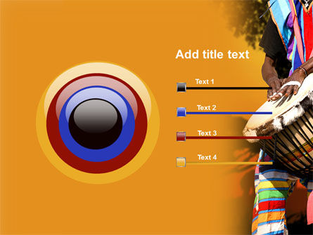African Drum PowerPoint Template Slide 9