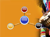 African Drum PowerPoint Template#14
